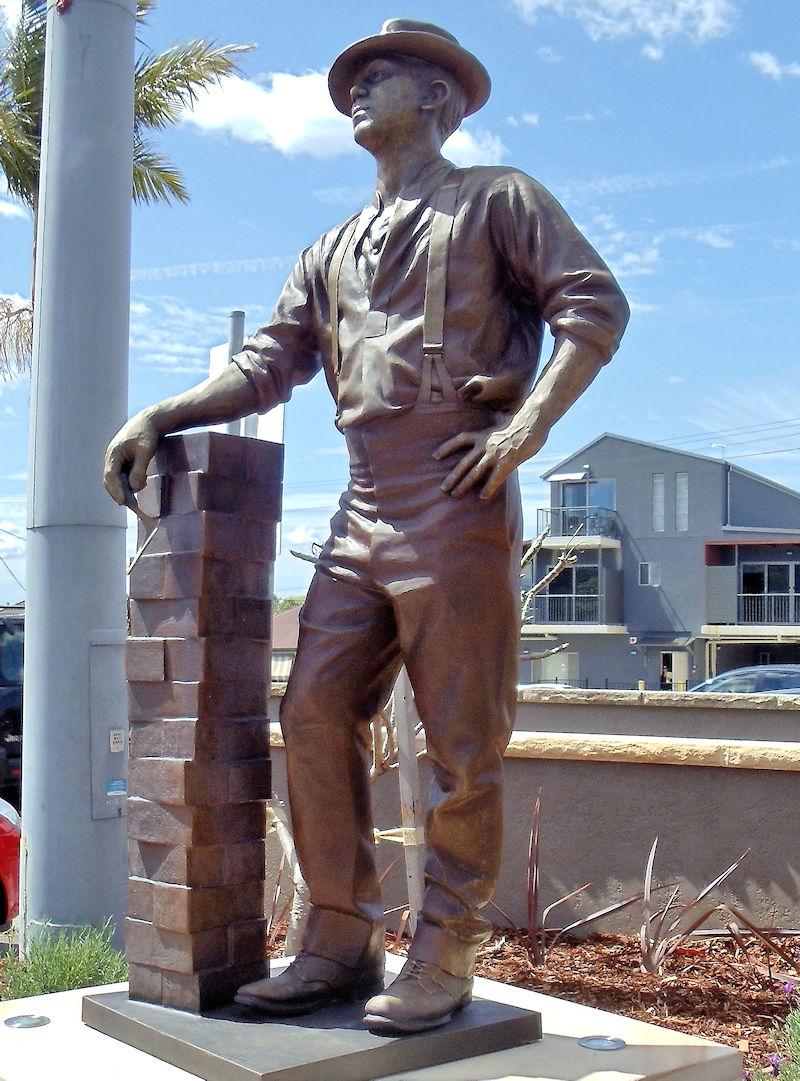 Waratah Bronze Stature