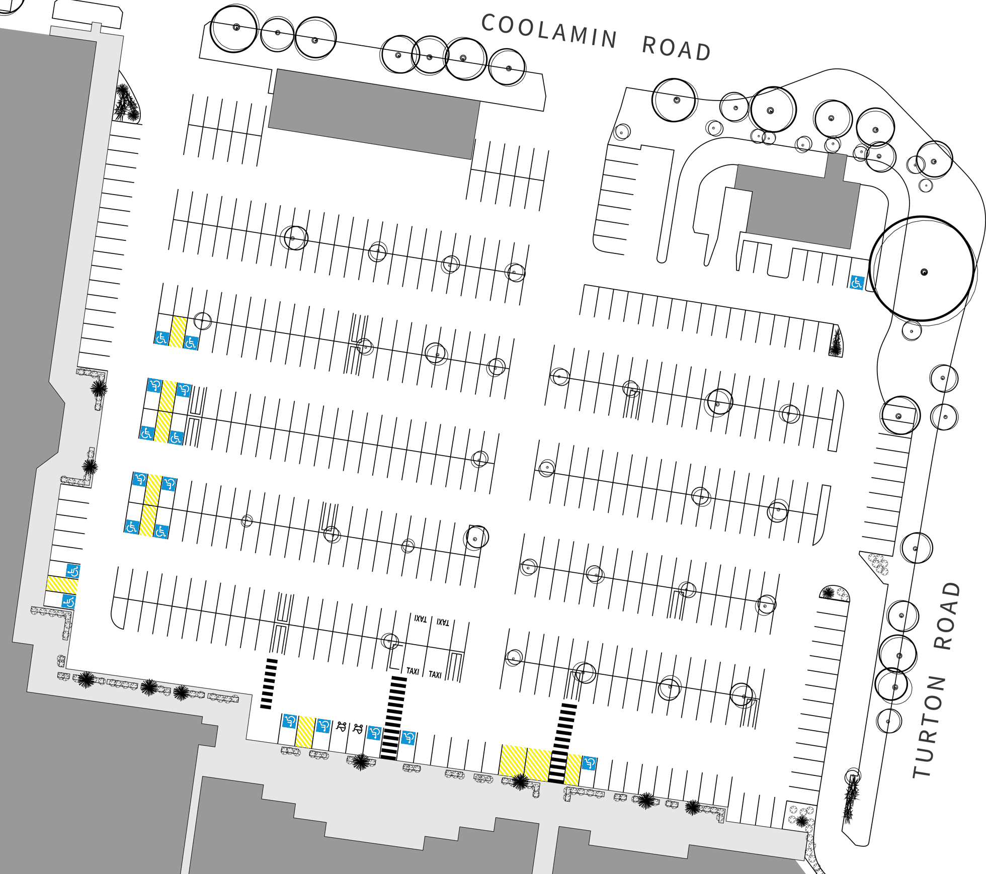 Waratah Village Parking Map